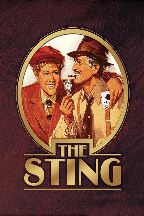 1973 The Sting movie poster