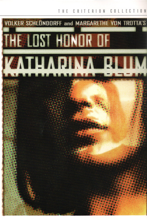 1975 The Lost Honor of Katharina Blum movie poster