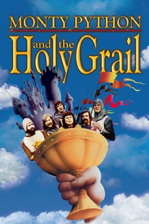 1975 Monty Python and the Holy Grail movie poster