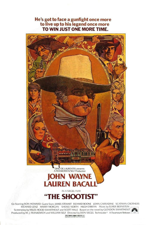 1976 The Shootist movie poster