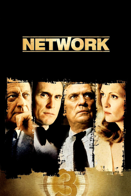 1976 Network movie poster