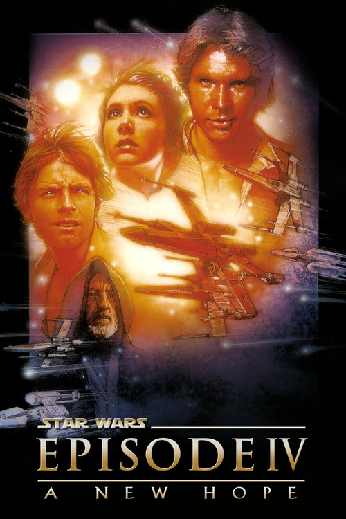 1977 Star Wars: Episode IV - A New Hope movie poster