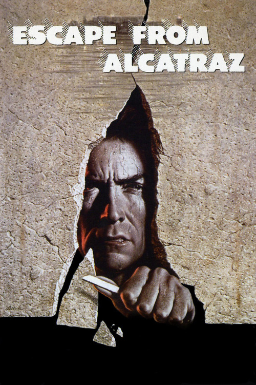 1979 Escape from Alcatraz movie poster