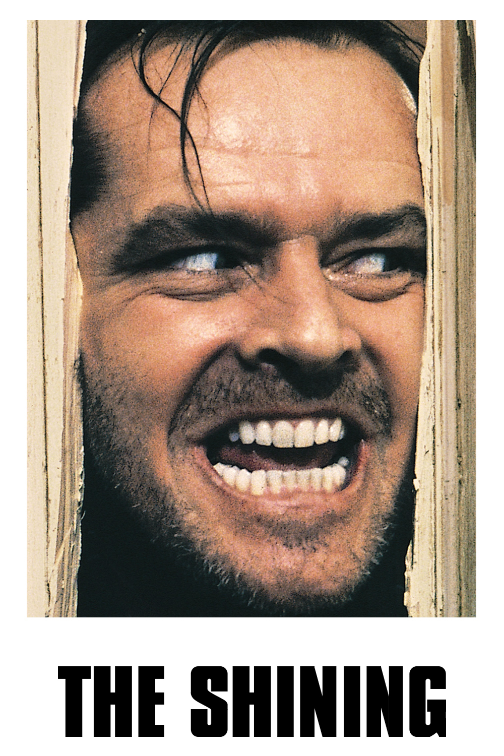 1980 The Shining movie poster