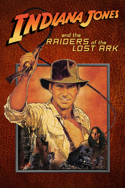 1981 Raiders of the Lost Ark movie poster