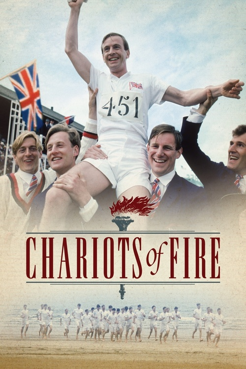 1981 Chariots of Fire movie poster