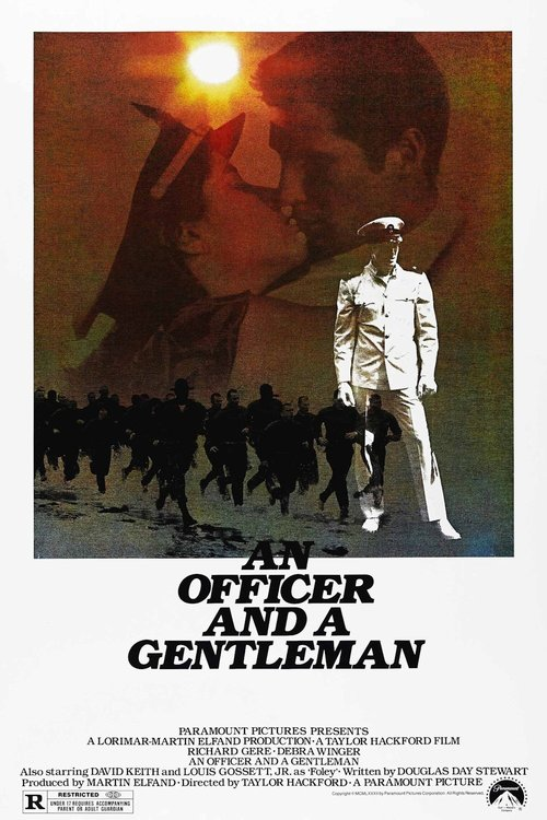 1982 An Officer and a Gentleman movie poster