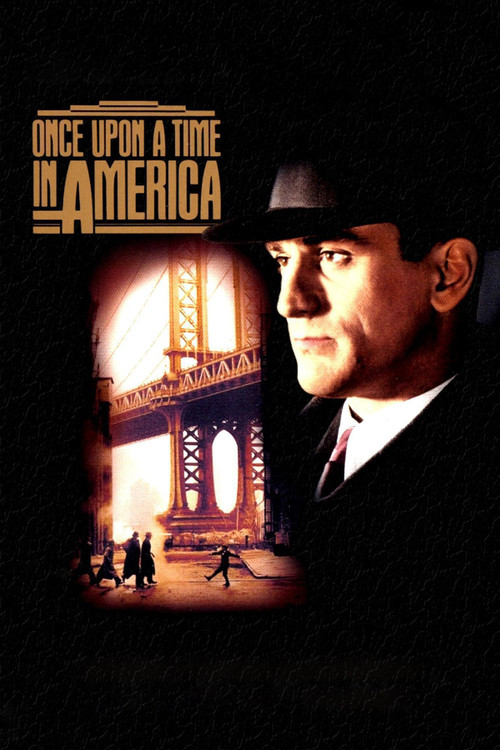 1984 Once Upon a Time in America movie poster