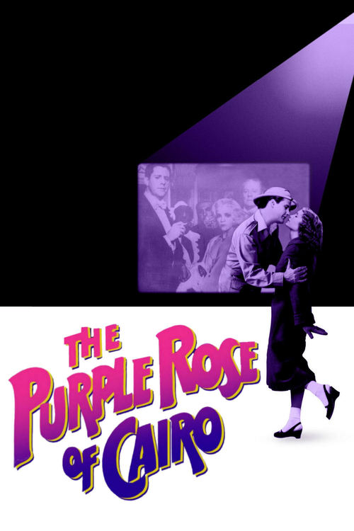 1985 The Purple Rose of Cairo movie poster