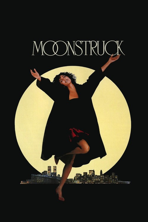1987 Moonstruck movie poster