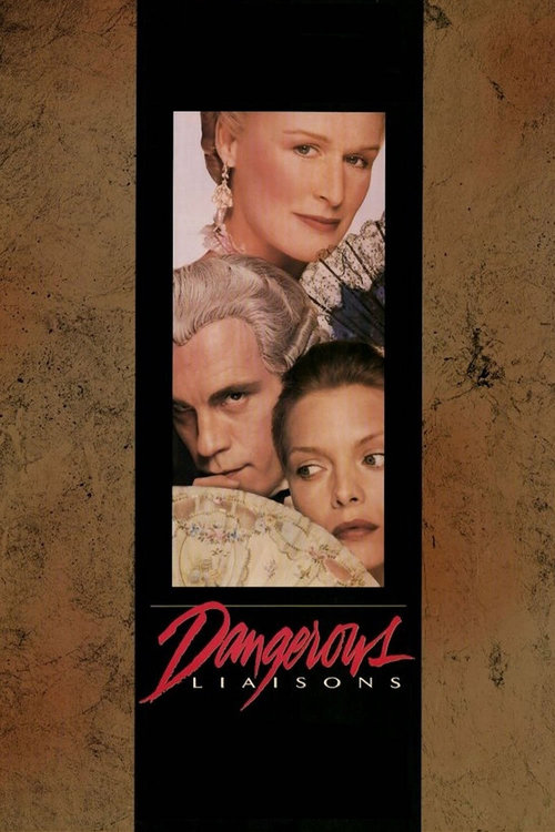 1988 Dangerous Liaisons movie poster