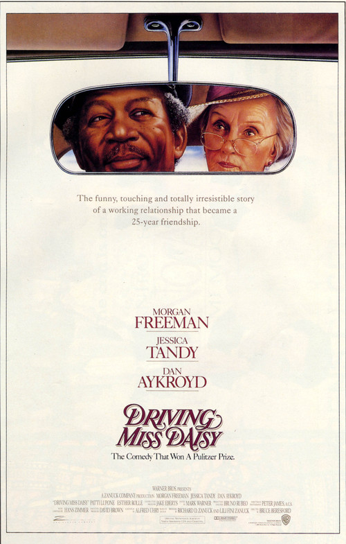 1990 Driving Miss Daisy movie poster
