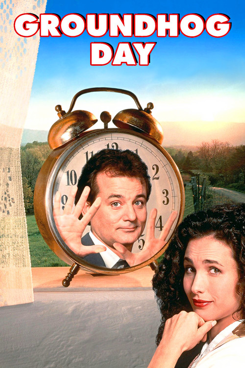 1993 Groundhog Day movie poster