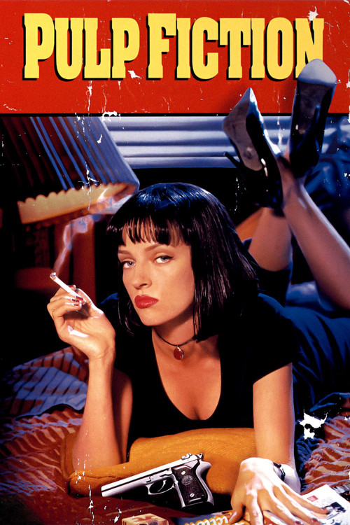 1994 Pulp Fiction movie poster