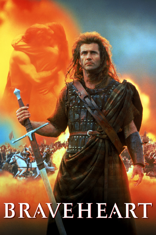 1995 Braveheart movie poster