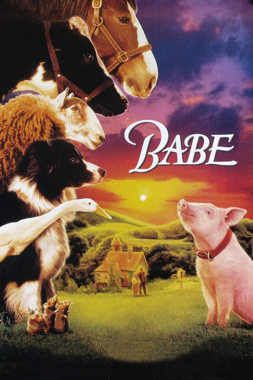 1995 Babe movie poster