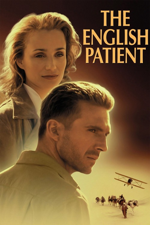 1996 The English Patient movie poster