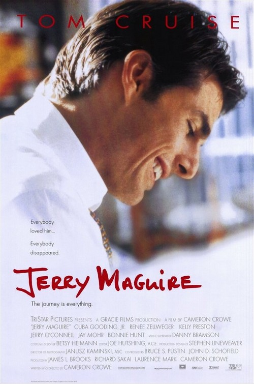 1996 Jerry Maguire movie poster