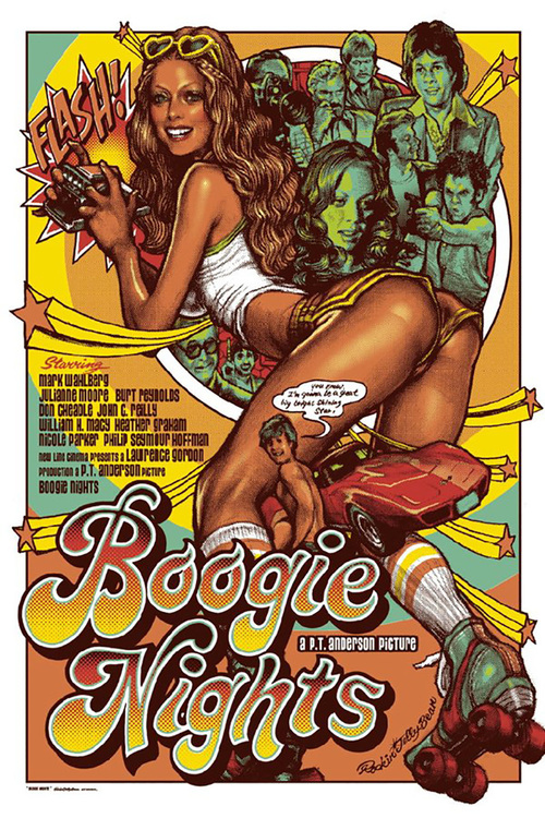 1997 Boogie Nights movie poster