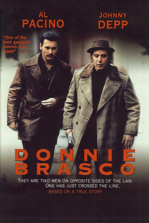 1997 Donnie Brasco movie poster