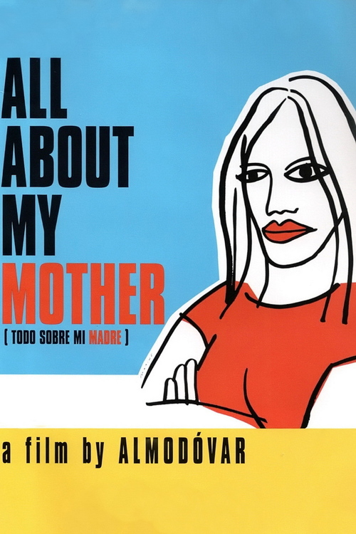 1999 All About My Mother movie poster