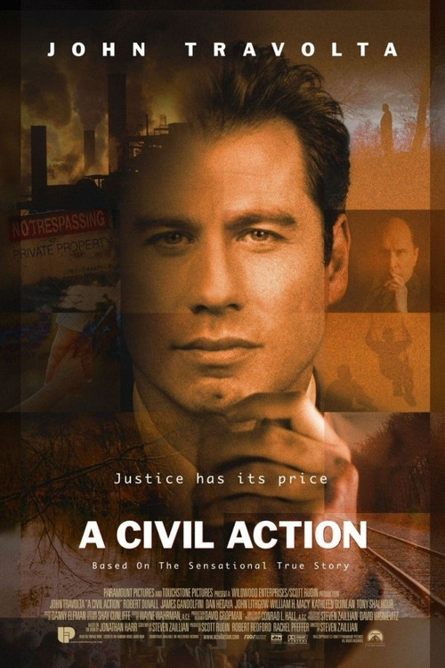 1999 A Civil Action movie poster