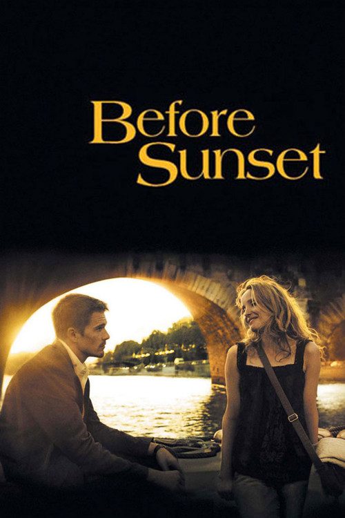 2004 Before Sunset movie poster