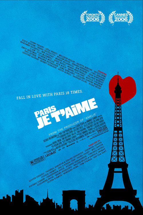 2006 Paris, Je T'Aime movie poster