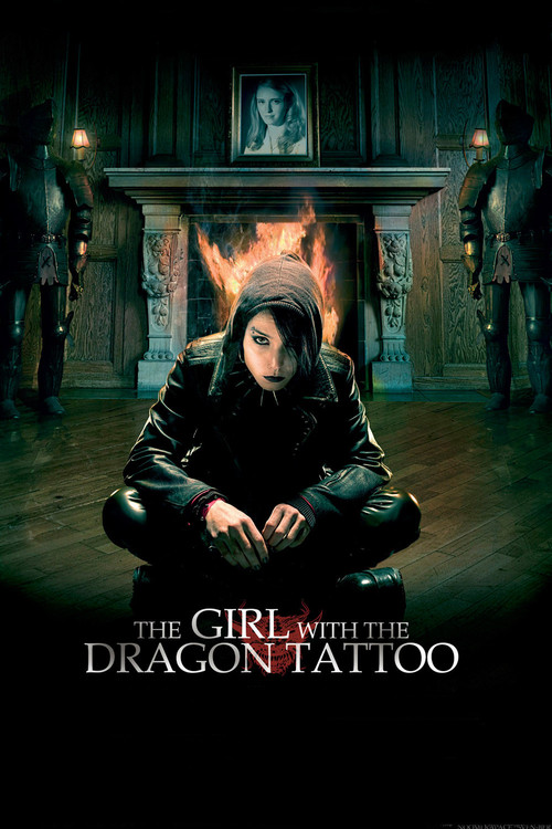 2009 The Girl with the Dragon Tattoo movie poster
