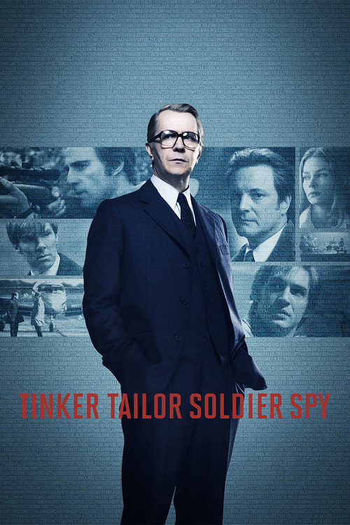 2011 Tinker, Tailor, Soldier, Spy movie poster
