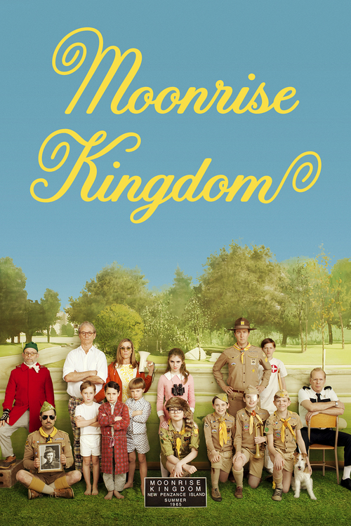 2012 Moonrise Kingdom movie poster