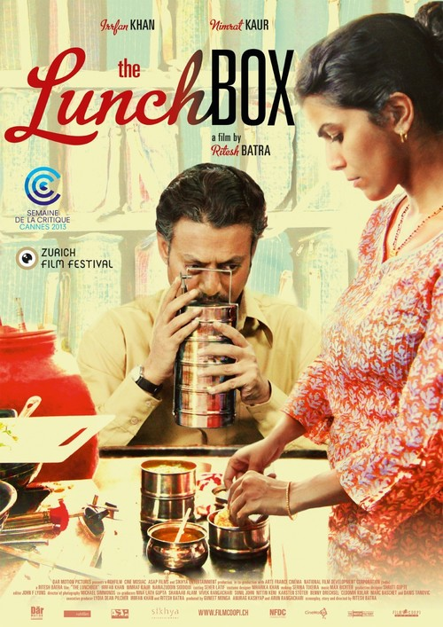 2013 The Lunchbox movie poster