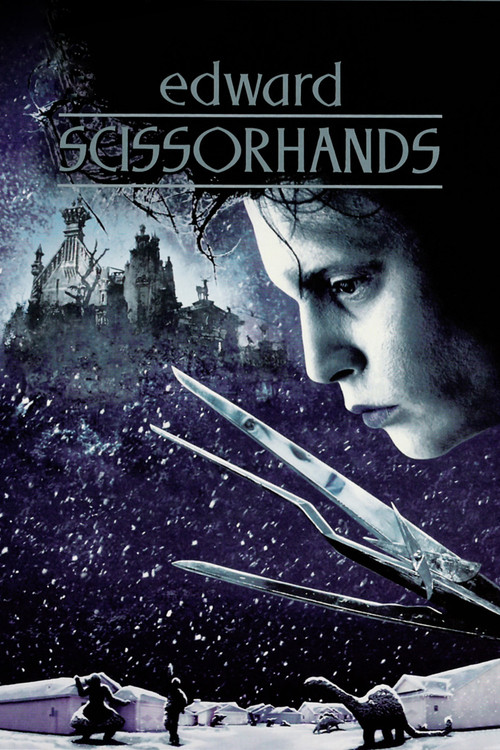 1990 Edward Scissorhands movie poster