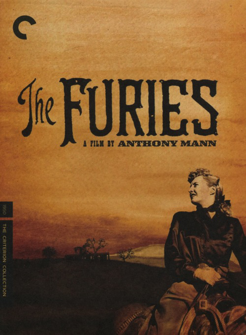 1950 The Furies movie poster