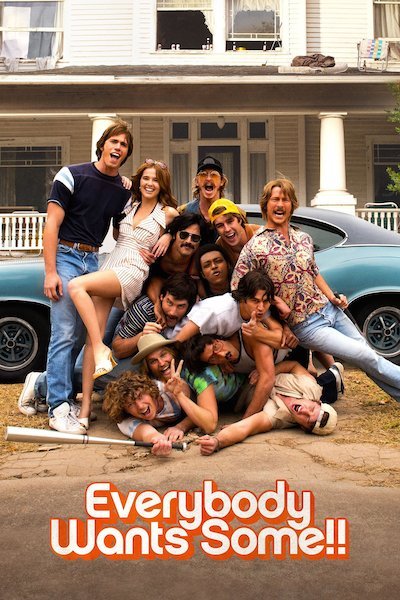 2016 Everybody Wants Some movie poster