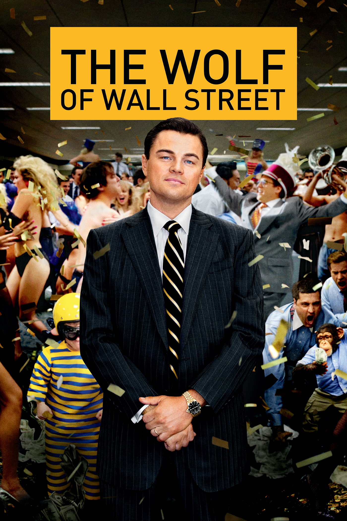 2013 The Wolf of Wall Street movie poster